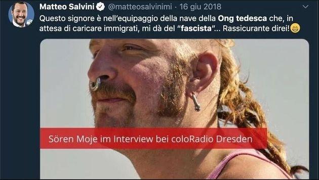 Salvini condannato per violazione del copyright dal tribunale di Francoforte: rischia fino a 250 mila...
