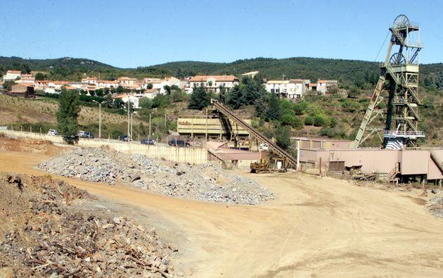 Le site d'extraction de l'or de