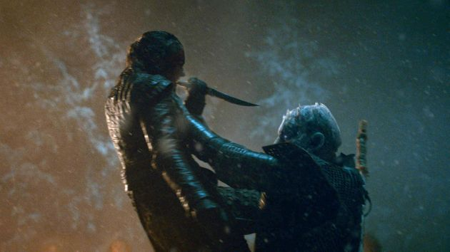 Arya's path to The Night King nearly took a different