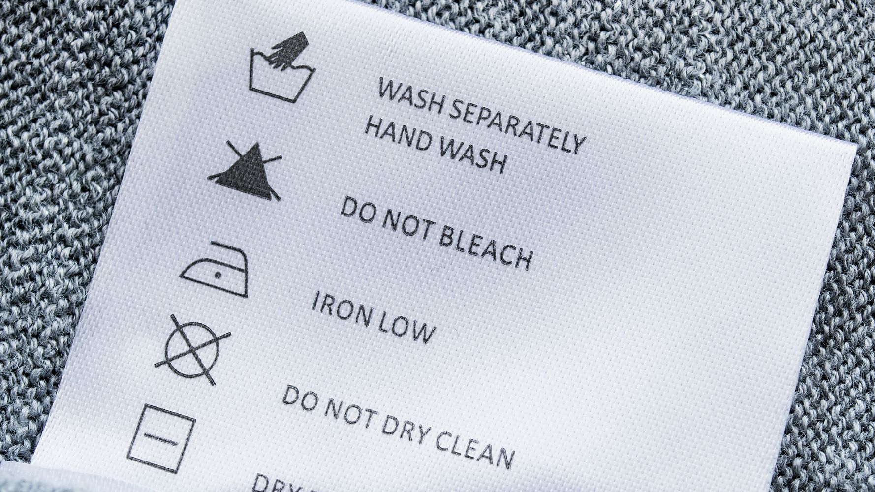 Why So Many Clothing Tags Say 'Hand-Wash Only' thumbnail