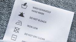 Posso colocar na máquina as roupas que devem ser lavadas à