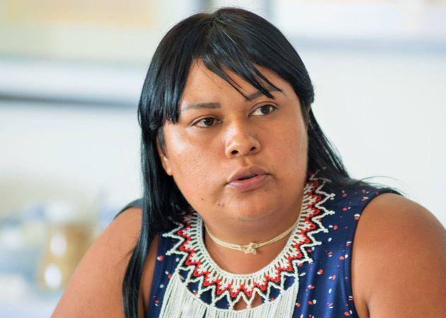 Ro'Otsitsina Xavante é uma das lideranças femininas indígenas docerrado