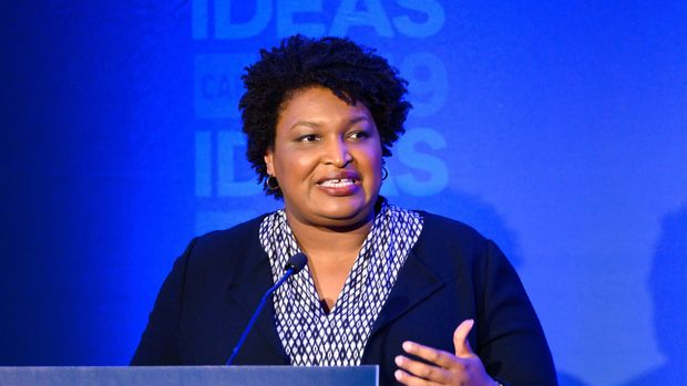 WASHINGTON, DC, UNITED STATES - 2019/05/22: Stacey Abrams, Founder, Fair Fight Action, speaking at The Center for American Progress CAP 2019 Ideas Conference. (Photo by Michael Brochstein/SOPA Images/LightRocket via Getty Images)