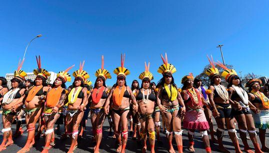 Contra Bolsonaro, pelas terras: A 1ª Marcha das Mulheres Indígenas em 15