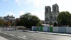 Empiezan los trabajos de limpieza de plomo en Notre Dame de