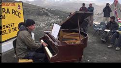 Un concert de piano à 5328 m