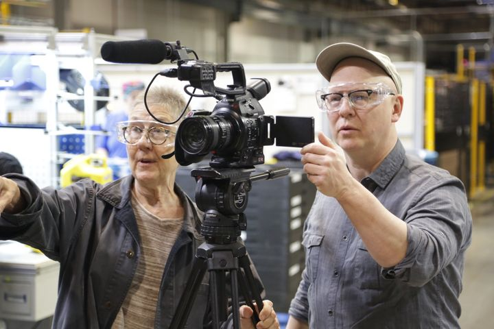 """American Factory"" co-directors Julia Reichert (left) and Steven Bognar (right). Their documentary is the first Netflix project to be released under the banner of Barack and Michelle Obama's production company, Higher Ground Productions."