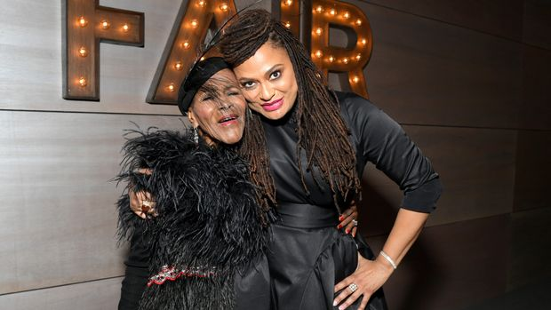 BEVERLY HILLS, CA - FEBRUARY 24: (EXCLUSIVE ACCESS, SPECIAL RATES APPLY)  Cicely Tyson (L) and Ava DuVernay attend the 2019 Vanity Fair Oscar Party hosted by Radhika Jones at Wallis Annenberg Center for the Performing Arts on February 24, 2019 in Beverly Hills, California.  (Photo by Emma McIntyre /VF19/WireImage)