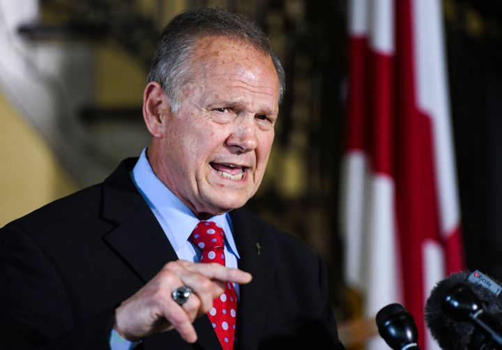 """LGBT have an agenda,"" according to Roy Moore."