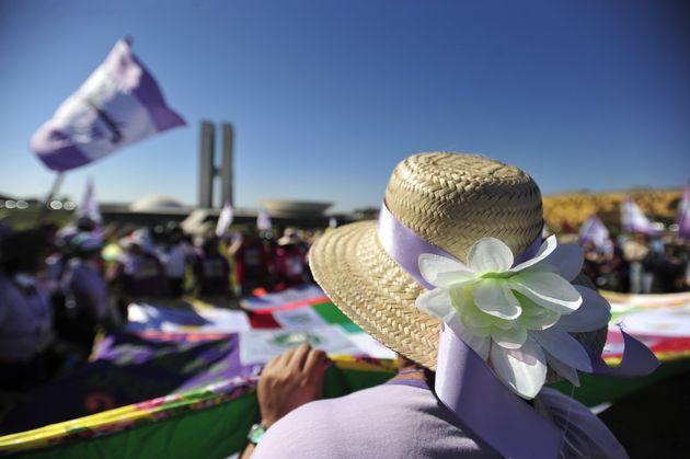 Em sua sexta edição, a tradicional Marcha das Margaridasreúne camponesas,...