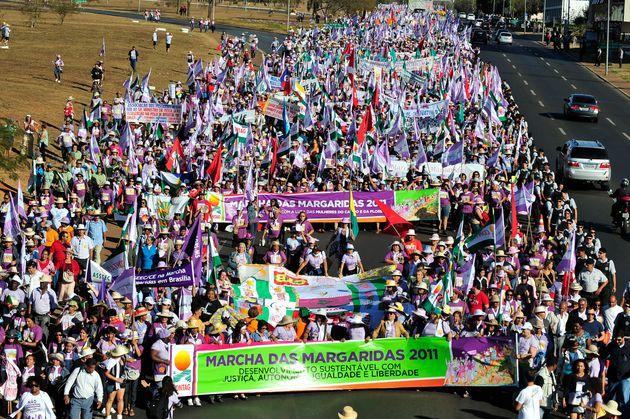 Marcha das Margaridas acontece desde 2000 na capital