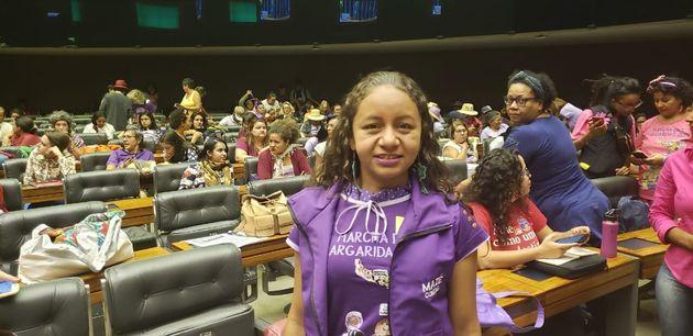 Coordenadora nacional da Marcha das Margaridas e secretária de Mulheres da Contag, Mazé...