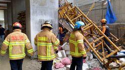 속초 공사현장에서 엘리베이터 추락사고가