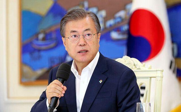 韓国の文在寅大統領=大統領府提供