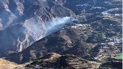 El incendio de la cumbre de Gran Canaria, estabilizado después de cuatro