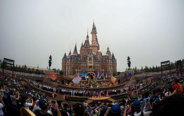 上海のディズニーランド