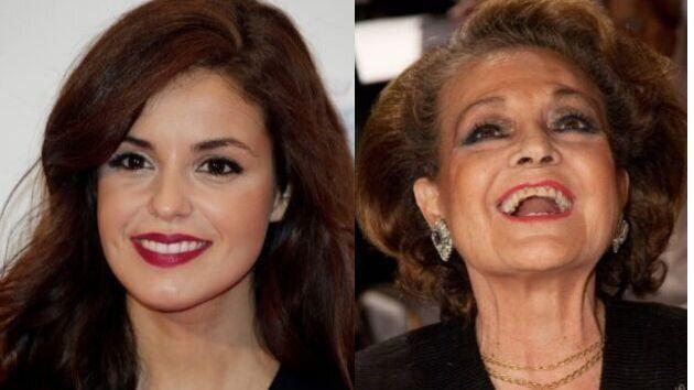 La foto que demuestra que Marta Torné y Carmen Sevilla son la misma
