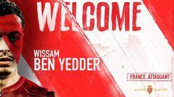 Le Bleu Wissam Ben Yedder s'engage à Monaco et retrouve la Ligue