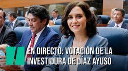 🔴 EN DIRECTO: Debate y votación de investidura de Isabel Díaz