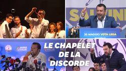 Salvini brandit son chapelet et ça devient une