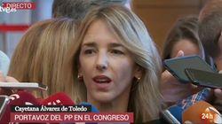 La comentada reacción de Cayetana Álvarez de Toledo a la confusión de una periodista de 'Espejo