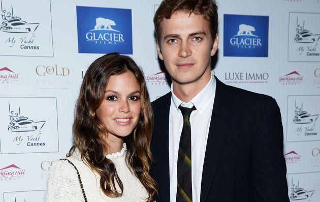 Rachel with ex Hayden