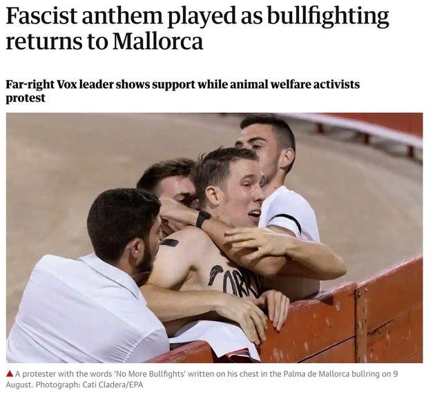El vídeo grabado en España que sorprende (y para mal) en el Reino