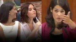 Todos los dardos de Isa Serra en la investidura de