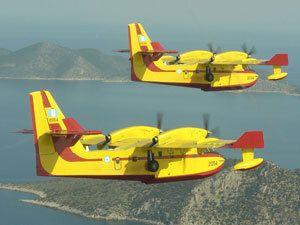 Ποιοι είναι οι τρεις τύποι πυροσβεστικών αεροπλάνων που χρησιμοποιεί η