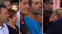 Lacrime, applausi e poi il silenzio: Genova si ferma per un minuto