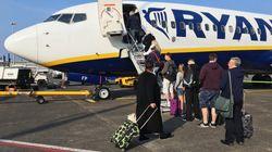 Los tripulantes de cabina de Ryanair convocan 10 días de huelga en