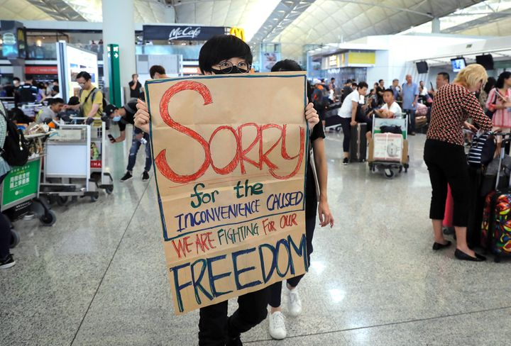 Westlake Legal Group 5d53f5d12400009301b7c2df Flights Resume At Hong Kong Airport After Protests Ease