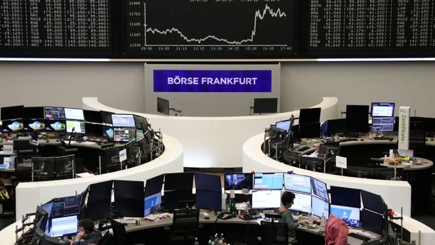 The German share price index DAX graph is pictured at the stock exchange in Frankfurt, Germany, August 13, 2019.    REUTERS/Staff