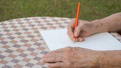 Un braç trencat (escrit amb un dit —i un