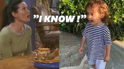 Courteney Cox n'a pas lâché cet enfant pour lui apprendre le