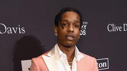 A$AP Rocky reconnu coupable de voie de fait en