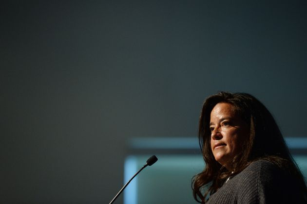 JodyWilson-Raybould gives the keynote speech to the First Nations Justice Council in Richmond,...