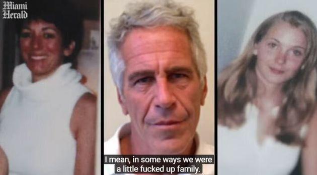 Virginia Roberts Giuffre (à droite, photo d'elle adolescente) dit avoir été retenue...
