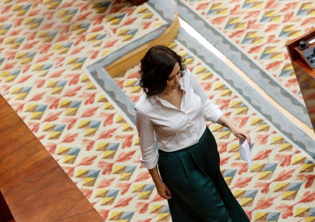 Isabel Díaz Ayuso, nueva presidenta de la Comunidad de Madrid tras un duro