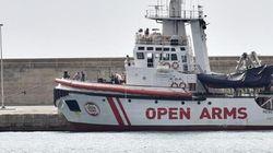 Un tribunal permite al 'Open Arms' entrar en aguas