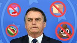 'Cocô dia sim, dia não': O que NÃO comer para seguir 'dica' de Bolsonaro e salvar