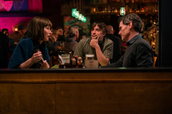 "Richard Linklater directs Cate Blanchett and Billy Crudup in a scene from ""Where'd You Go, Bernadette."""