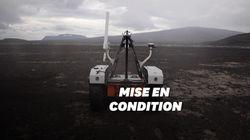 La Nasa teste ses robots pour Mars aux pieds de volcans