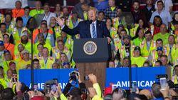 Trump assure qu'être président lui fait perdre 3 à 5 milliards $.