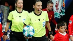 Stephanie Frappart nella storia: è la prima donna ad arbitrare una finale di calcio
