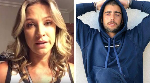 Luana Piovani disse que ficou quatro dias sem falar com os filhos, que estão viajando com o pai,...