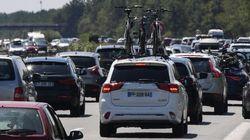 Les prévisions de trafic pour le week-end prolongé du 15