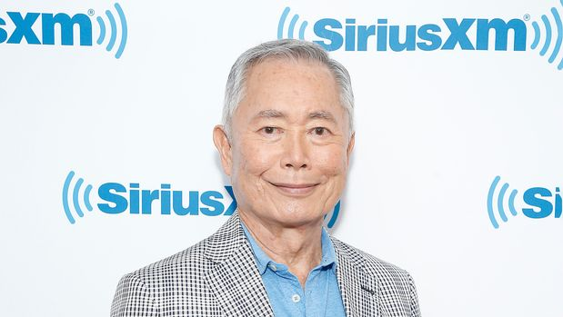 NEW YORK, NEW YORK - AUGUST 13: George Takei visits SiriusXM Studios on August 13, 2019 in New York City. (Photo by John Lamparski/Getty Images)