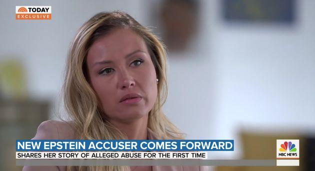 Jennifer Araoz a intenté une action en justice contre les héritiers de Jeffrey Epstein...