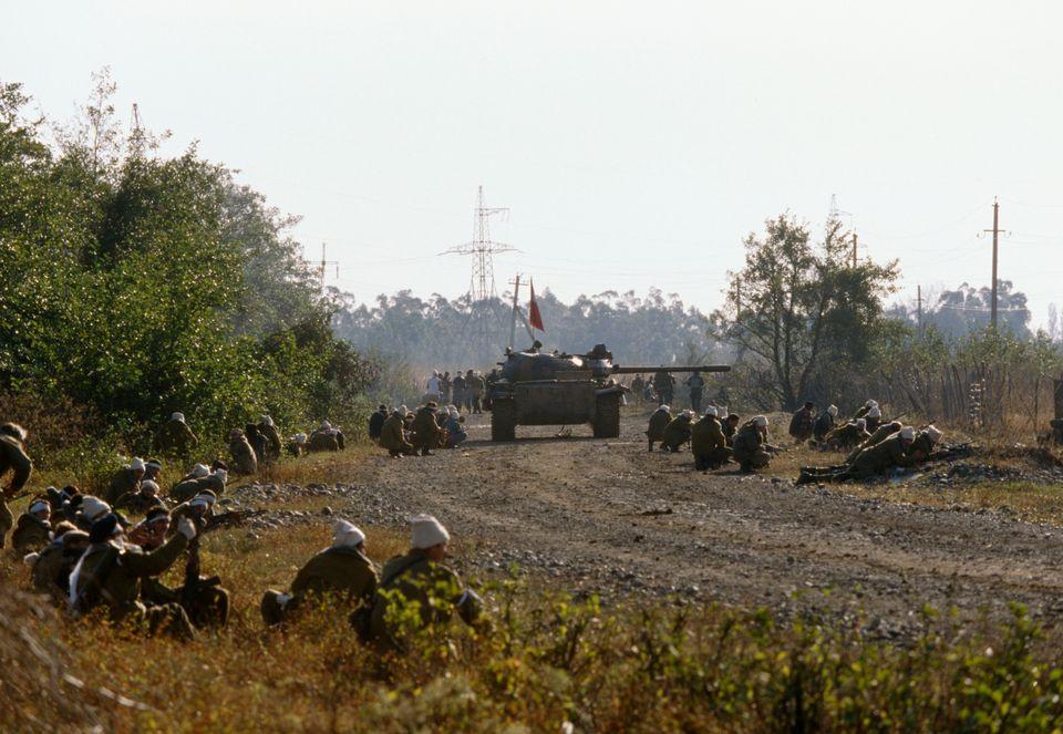 Γεωργιανοί στρατιώτες...